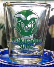 CSU Rams Shot Glass
